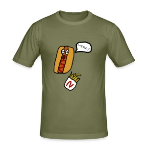 HOTDOG MERCY - Men's Slim Fit T-Shirt