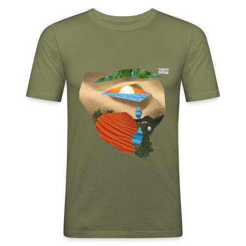 EARTH - Men's Slim Fit T-Shirt