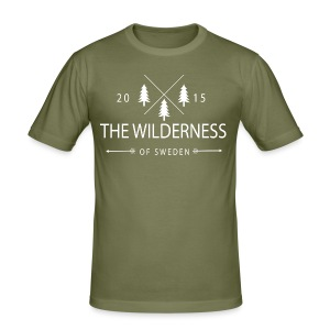The Wilderness Of Sweden - Slim Fit T-shirt herr