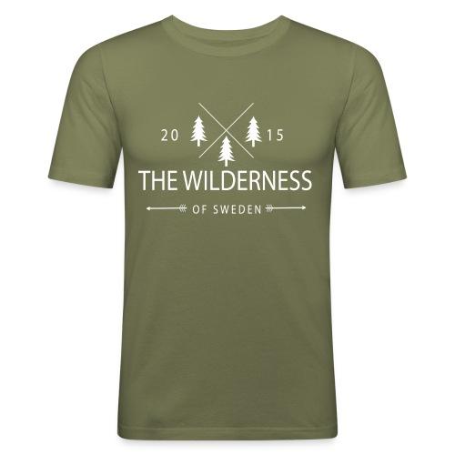 The Wilderness Of Sweden - Slim Fit T-shirt herr