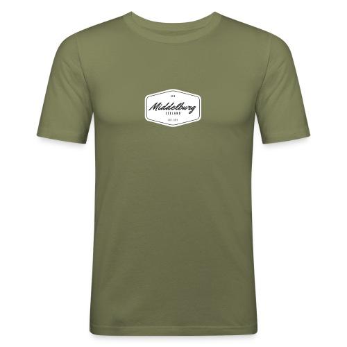 0118 Middelburg - slim fit T-shirt