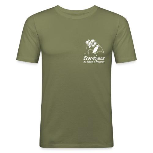 LOGO EBA POITRINE - T-shirt près du corps Homme