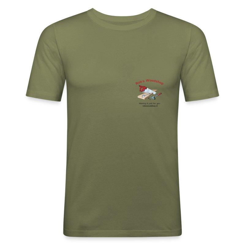 Woodshop robs shop gear - Men's Slim Fit T-Shirt