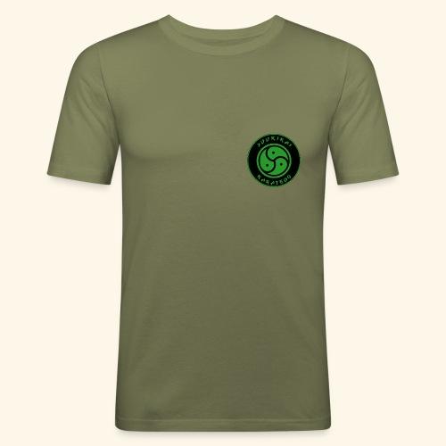 Yuukikai Logo - Männer Slim Fit T-Shirt