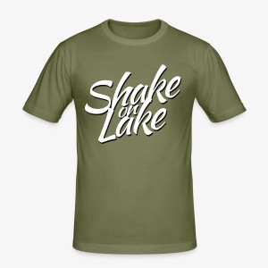 Shake on Lake 2017 - Männer Slim Fit T-Shirt
