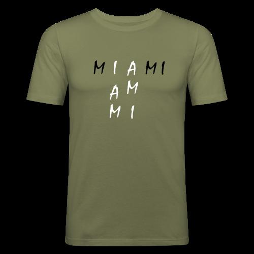 Miami Collection - Slim Fit T-skjorte for menn