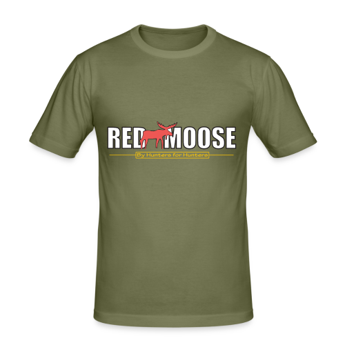 Red Moose logo - Slim Fit T-shirt herr