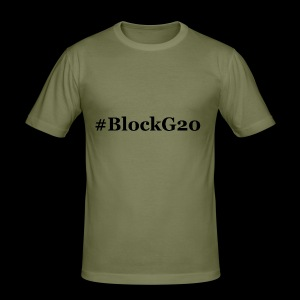 BlockG20 - Männer Slim Fit T-Shirt