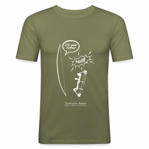 I am your father - Instinctive Archery - Men's Slim Fit T-Shirt