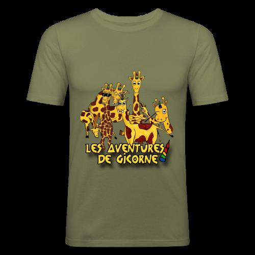 Les aventures de Gicorne - T-shirt près du corps Homme