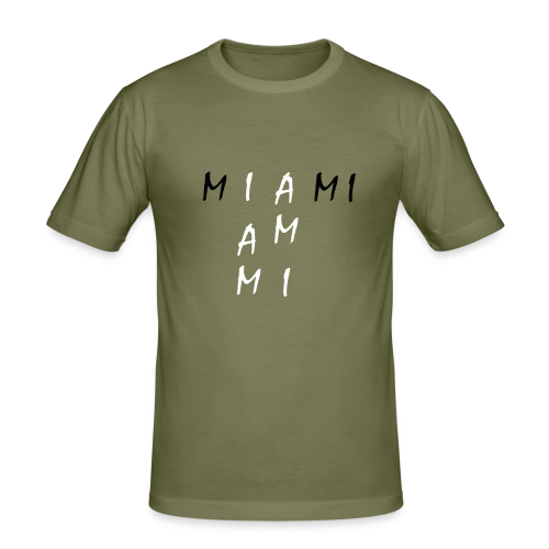 Miami Collection - Slim Fit T-skjorte for menn