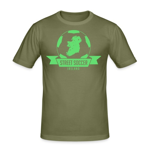 Street Soccer Ireland - Men's Slim Fit T-Shirt