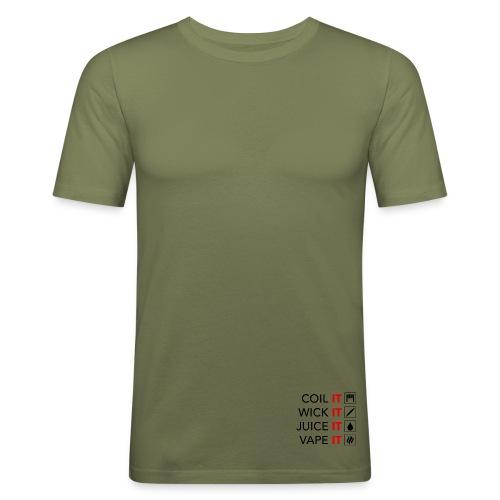 Vape Meme - Männer Slim Fit T-Shirt