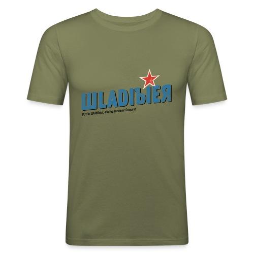 Wladibier - Männer Slim Fit T-Shirt
