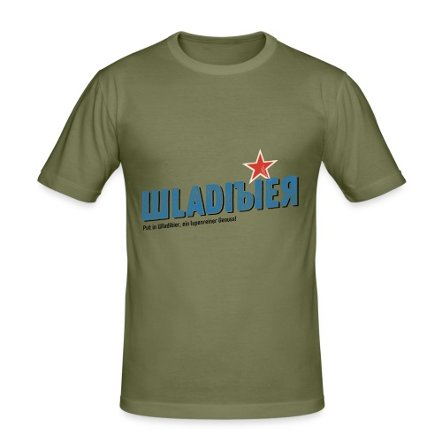 Wladibier - Männer Slim Fit T-Shirt
