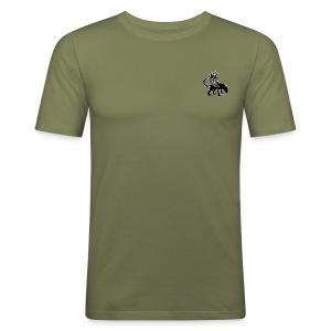 pog no bg - Tee shirt près du corps Homme