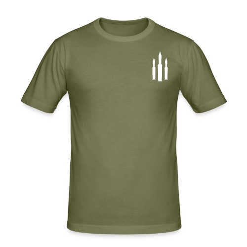 TripleShot - Men's Slim Fit T-Shirt