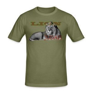 Lrg Judah Tribal Gears - Men's Slim Fit T-Shirt