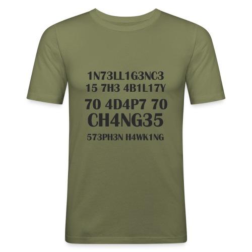 intelligence23 - Männer Slim Fit T-Shirt