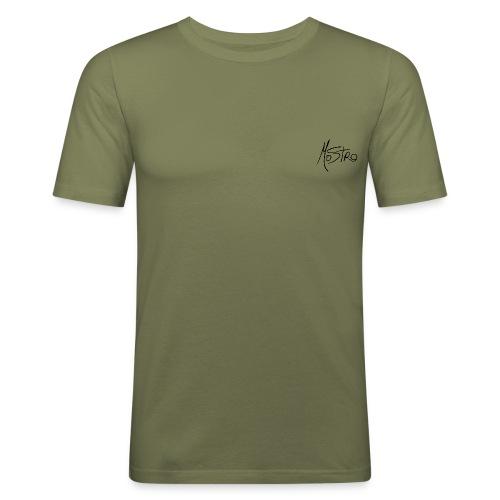 Monster Small Logo - Men's Slim Fit T-Shirt