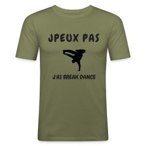 JPEUX PAS J'AI BREAK DANCE - Tee shirt près du corps Homme