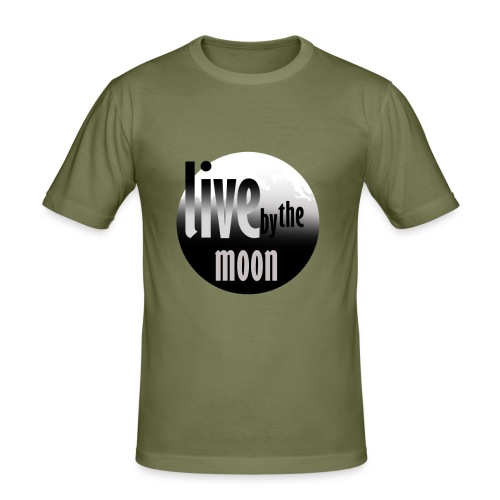 the moon - T-shirt près du corps Homme