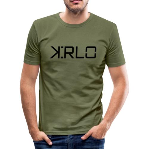 Kirlo Logotipo Negro - Camiseta ajustada hombre