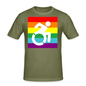 DISABLEDPROUD - slim fit T-shirt