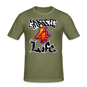 Graffiti 4 Life - Men's Slim Fit T-Shirt