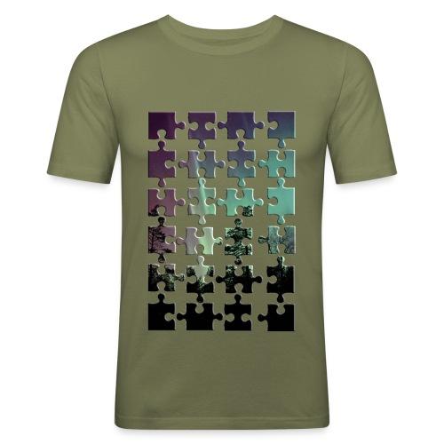 Puzzle - Männer Slim Fit T-Shirt