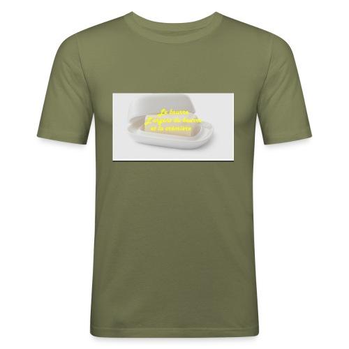 Le beurre - T-shirt près du corps Homme