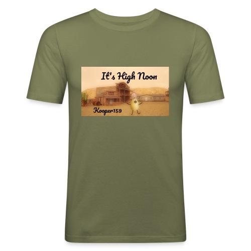 Potato Aim Kooper159 - Männer Slim Fit T-Shirt