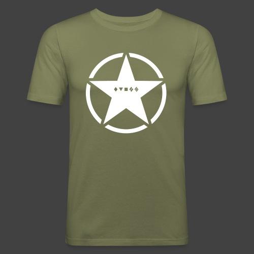 US Army Logo Panzerklassen - Männer Slim Fit T-Shirt