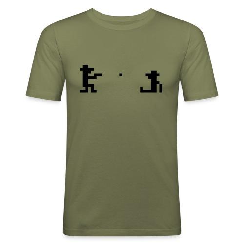 Retro Outlaw - Slim Fit T-skjorte for menn