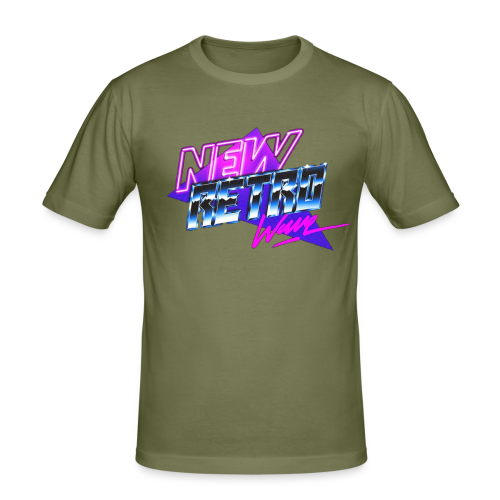 New Retro Wave - slim fit T-shirt