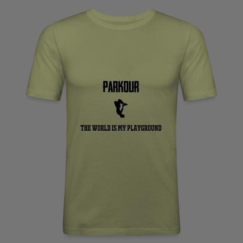 World is my playground - slim fit T-shirt