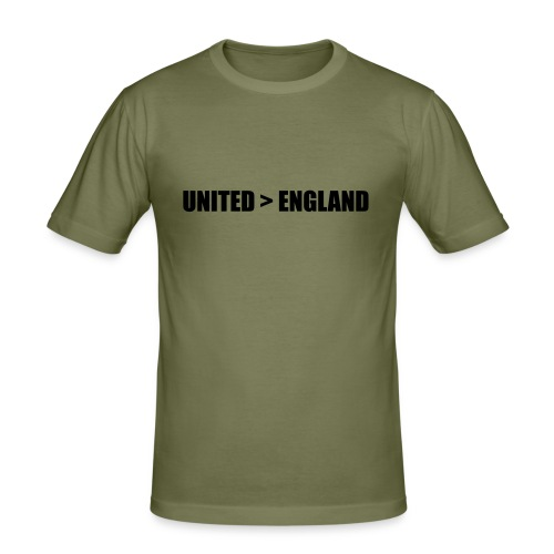 United > England - Men's Slim Fit T-Shirt