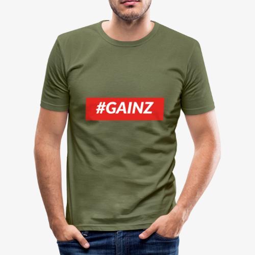Gainz by Simon Mathis - Männer Slim Fit T-Shirt
