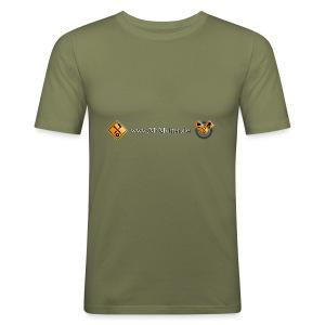 www.M1Molter.de - Männer Slim Fit T-Shirt