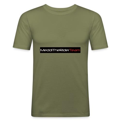 MeddiTheRiderTeam - Maglietta aderente da uomo