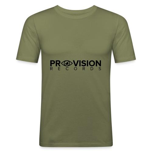 Provision T-Shirt (White) - Men's Slim Fit T-Shirt