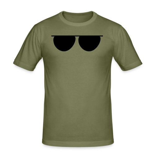 GLASSES - Camiseta ajustada hombre