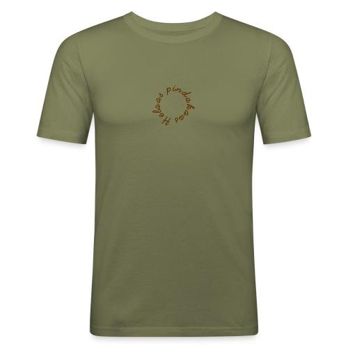 helaas pindakaas - slim fit T-shirt