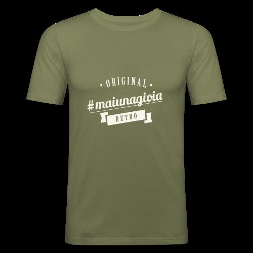 Vintage - Maglietta aderente da uomo