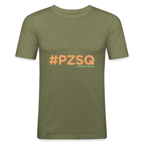 PZSQ 2 - Maglietta aderente da uomo