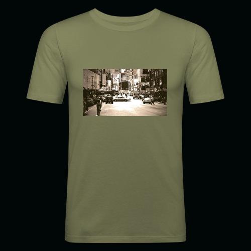 American street - Maglietta aderente da uomo