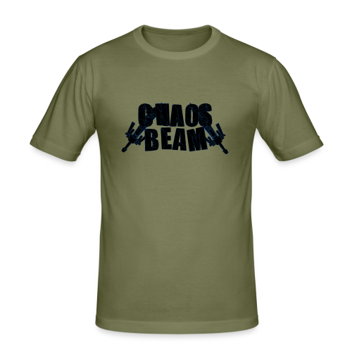 Chaos Beam - Männer Slim Fit T-Shirt