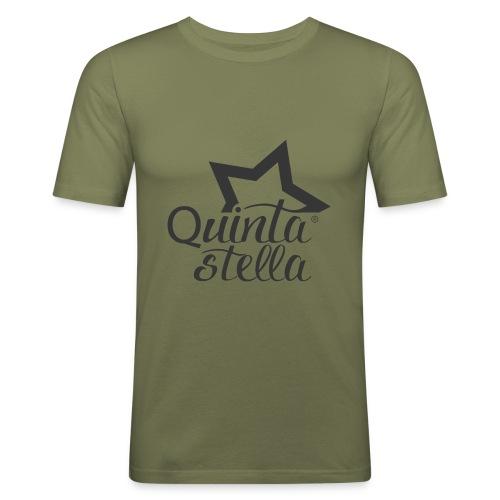 Quinta Stella - Maglietta aderente da uomo