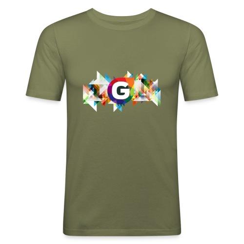 GurkenTVs Logo - Männer Slim Fit T-Shirt