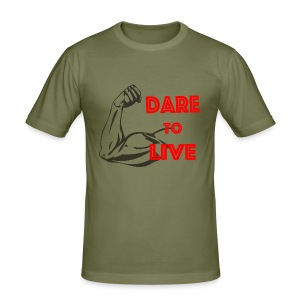 Dare2Live - slim fit T-shirt